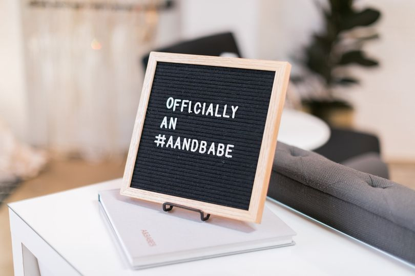 Officially #aandbabe sign