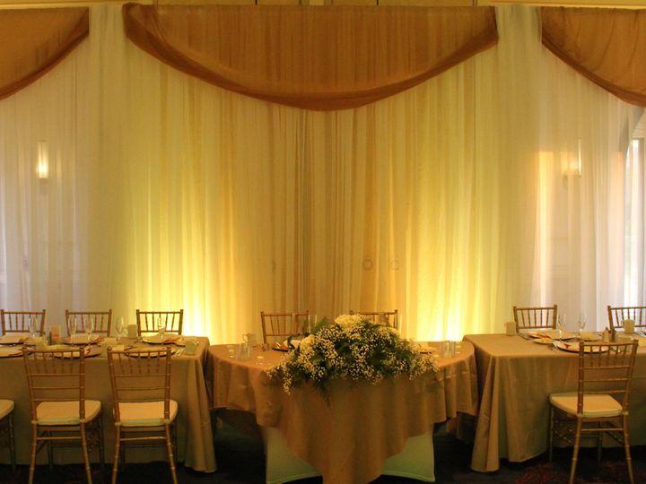 Tmx 1414420870942 Backdrop Head Table Largo wedding