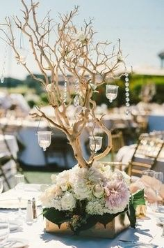 Tmx 1414422157434 Manzanita Tree And Grapewood Centerpieces And Larg Largo wedding