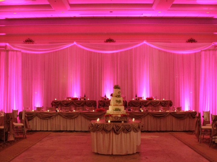 Tmx 1414422214703 Pinkbackdrop Largo wedding