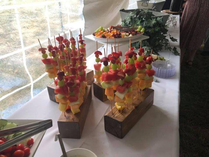 Appetizers w/ Fruit K-bobs