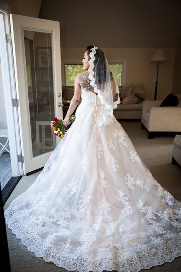 The perfect wedding dress