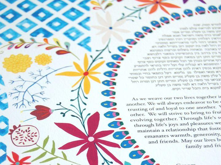 Tmx 1428511134521 Floral Hamsah Bottom Left Philadelphia wedding favor