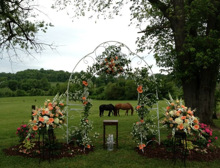 Ceremony Site for Davidsonville MD Wedding