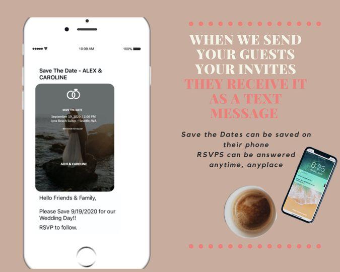 Text Message Invite