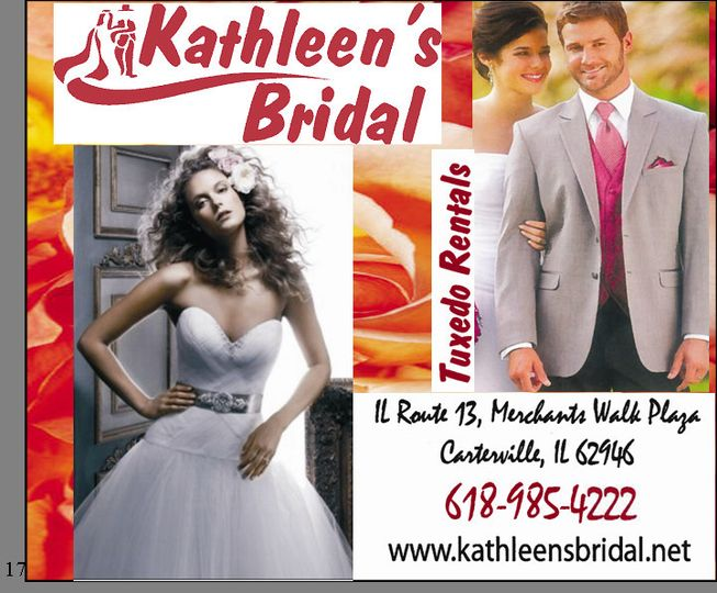 kathleen bridal 2012 flyer