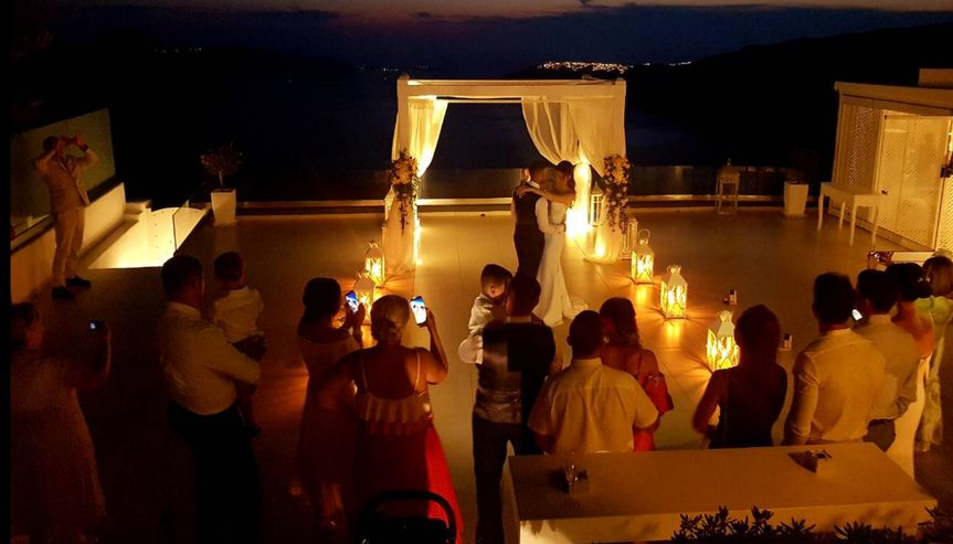 Romantic wedding location