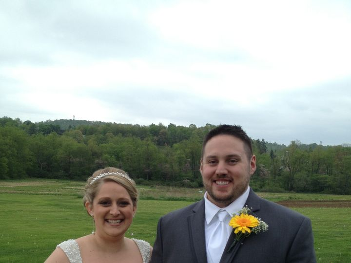 Tmx 1384358390330 Mr. And Mrs. Daniel And Erin Blevins 5.11.2013 Lin Murrysville, PA wedding officiant