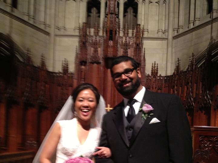 Tmx 1384358449667 Mr. And Mrs. Madhav And Kristine Ann Sankunny 5.11 Murrysville, PA wedding officiant