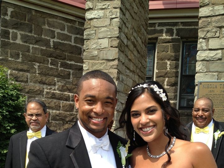 Tmx 1384358545968 Mr. And Mrs. Dominic And Kavita Bass 6.22.2013 Old Murrysville, PA wedding officiant