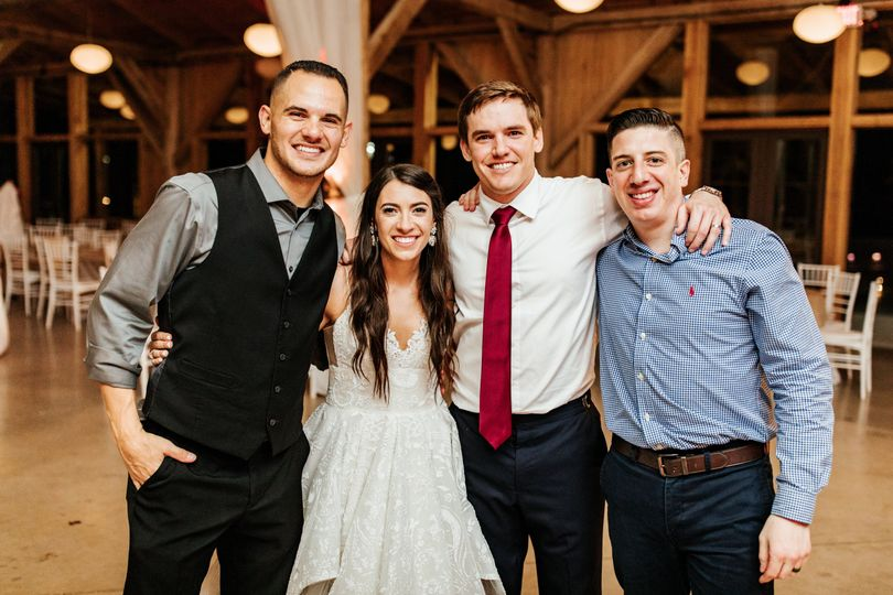 Bride, Groom, DJ, & MC