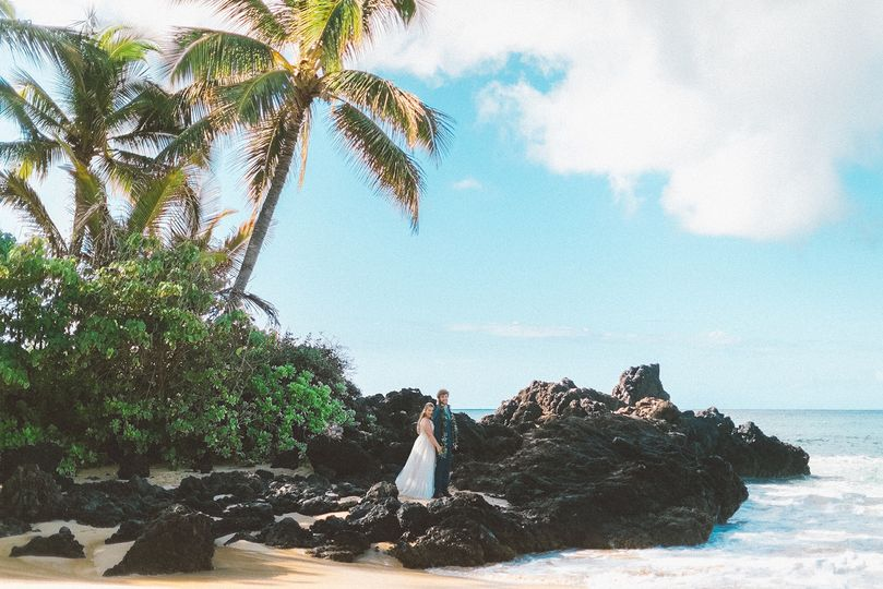 Makena Cove Beach Wedding