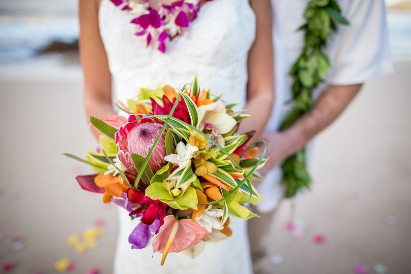 Happily Maui'd Bouquet