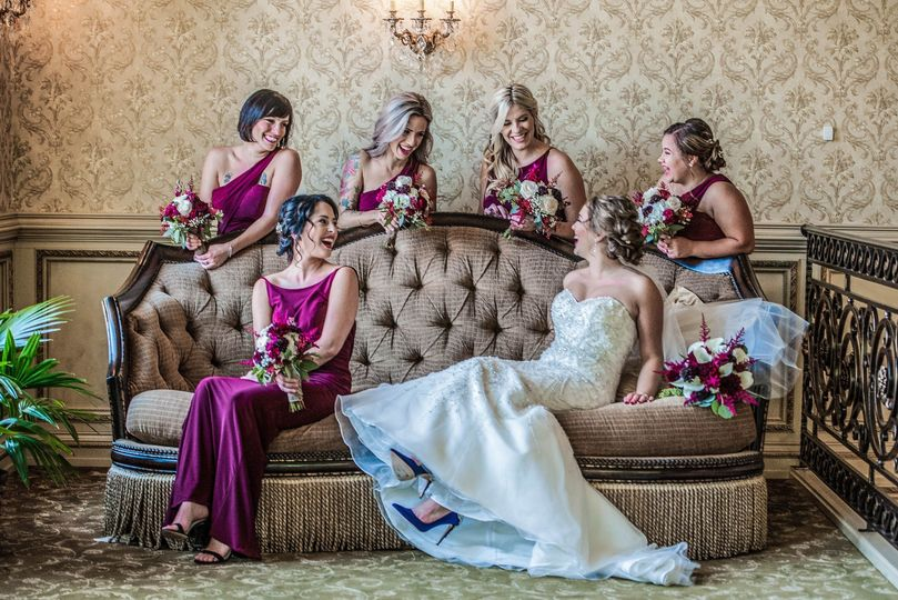 The bridal party - Event Story Studio