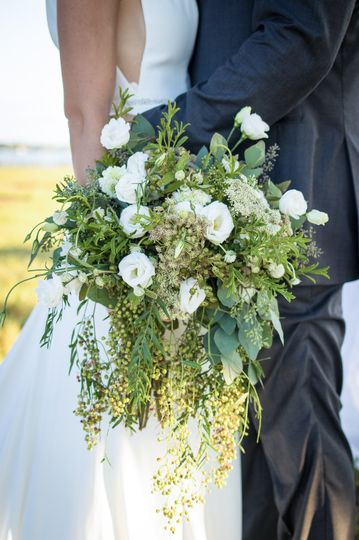 Whimsical bohemian bouquet