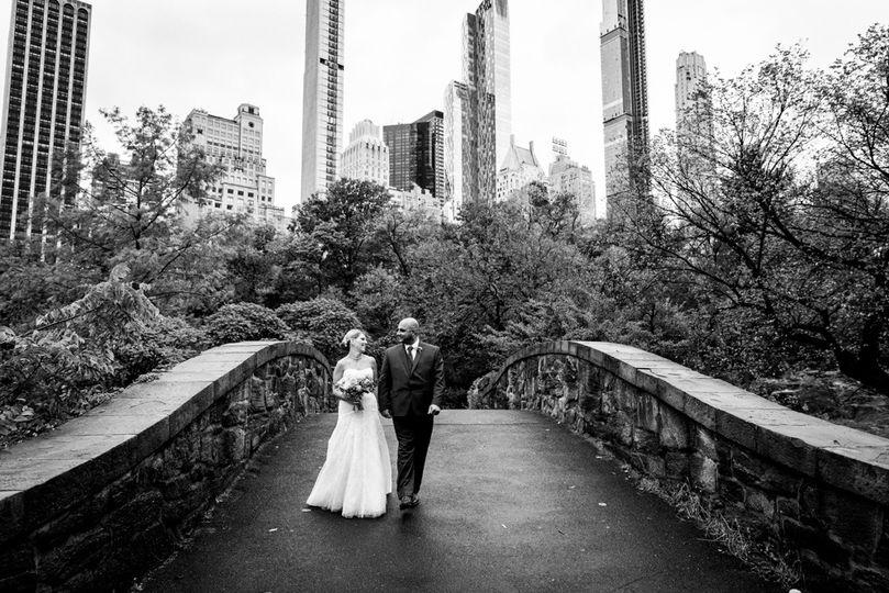 Gapstow Bridge Wedding Photos