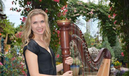Harpist Karina