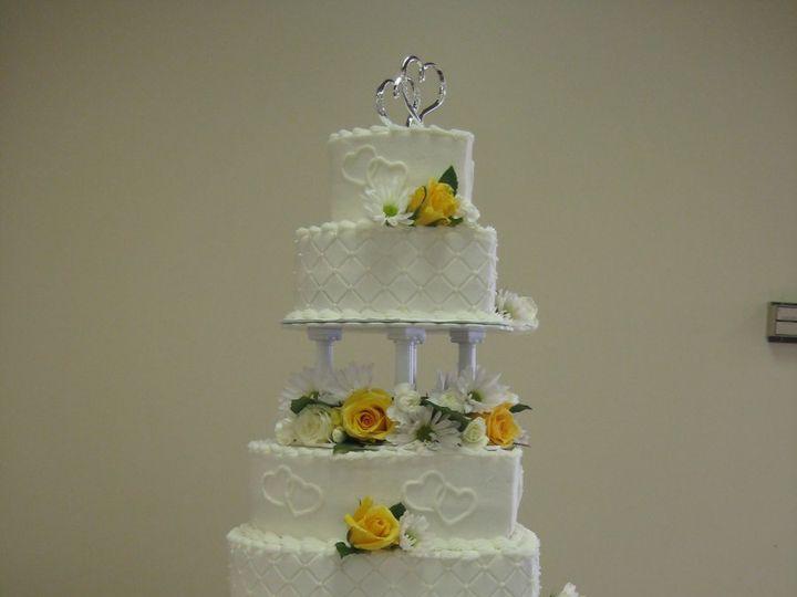 Tmx 1343223559431 IMG1025 Chester wedding cake