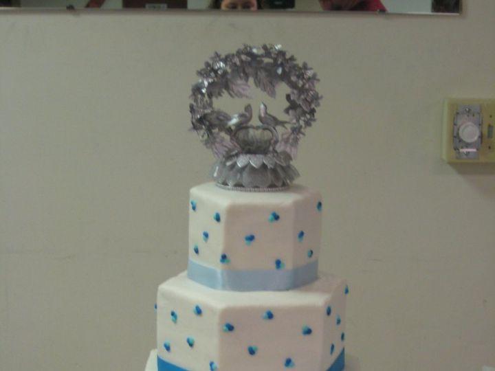 Tmx 1343223610198 IMG1606 Chester wedding cake