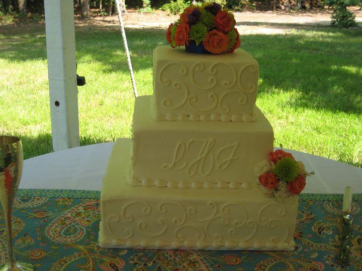 Tmx 1343223621325 IMG1724 Chester wedding cake