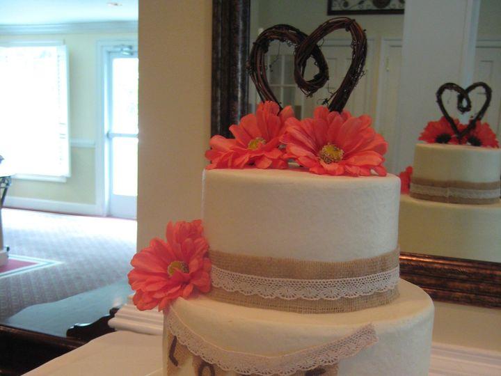 Tmx 1383754040447 Amanda  Glenn 8 17 1 Chester wedding cake