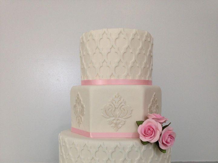 Tmx 1418780430405 2014 Display Cake Chester wedding cake