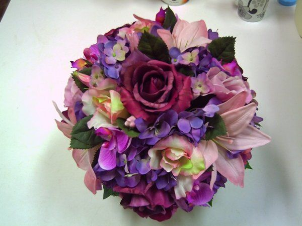 Tmx 1318536450421 Pinkandpurplenosegay Oxford wedding florist