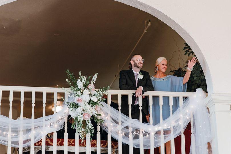 Bond Ballroom Balcony