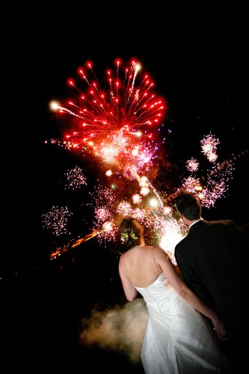 Nothing says celebration like wedding fireworks offered by Stunt Ranch.