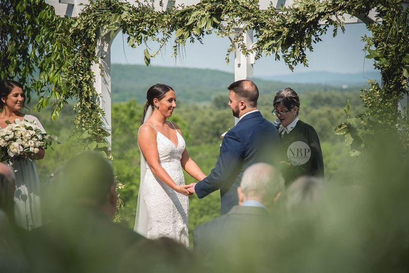 Mountaintop Wedding
