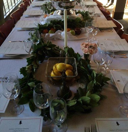 Banquet arrangement