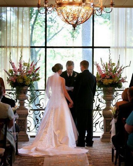 Ceremony inside the halls