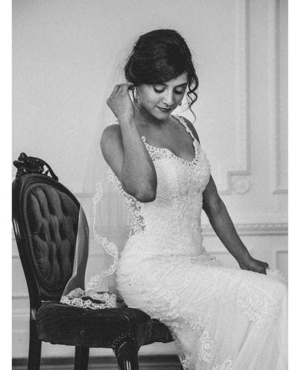 Bride Up Do
