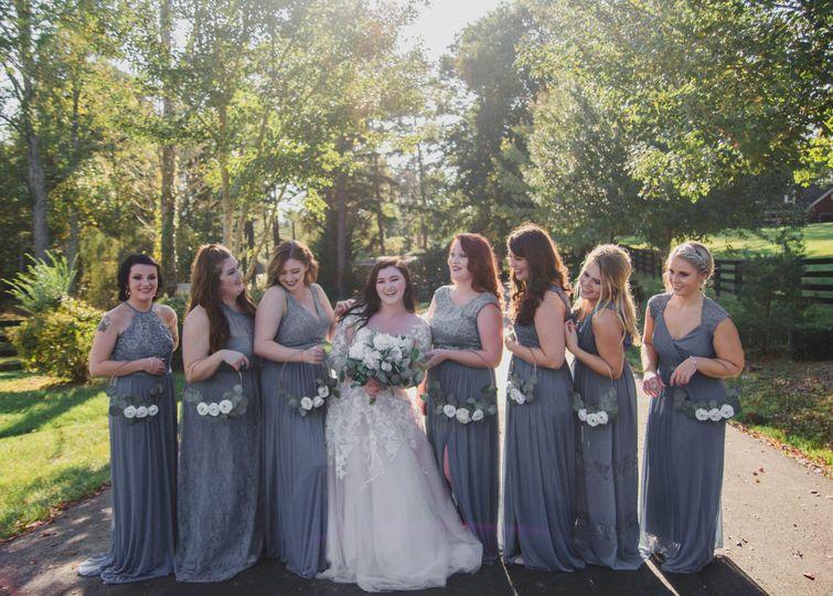 Savanna's bridesmaids