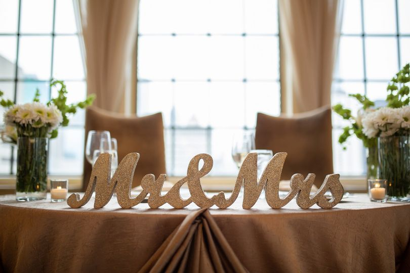 Newly Weds Table