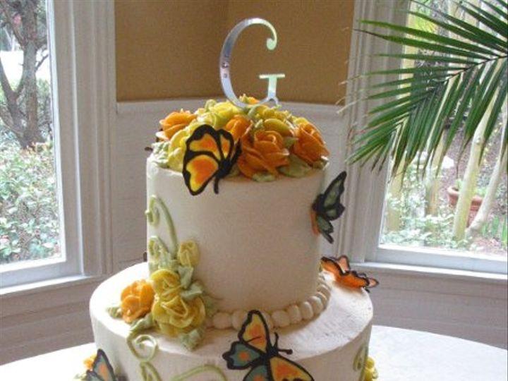 Tmx 1205254515985 Butterfly002 Blythewood, SC wedding cake