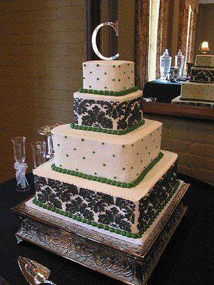 Tmx 1288053773437 BlackGreen001 Blythewood, SC wedding cake