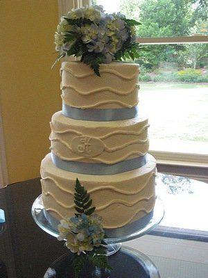 Tmx 1288053776515 Blue027 Blythewood, SC wedding cake