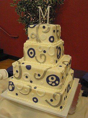 Tmx 1288053807140 Purple020 Blythewood, SC wedding cake