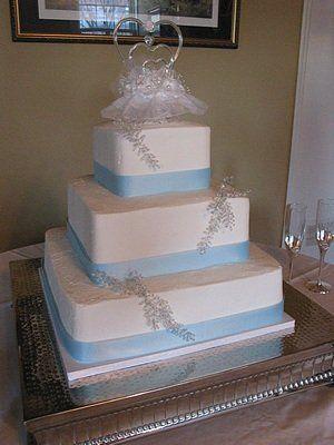 Tmx 1310095482704 Blue034 Blythewood, SC wedding cake