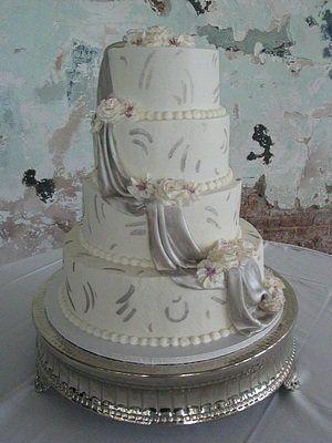 Tmx 1310095508959 Silver005 Blythewood, SC wedding cake