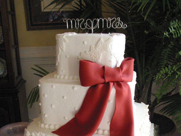Tmx 1388785133012 Red 03 Blythewood, SC wedding cake