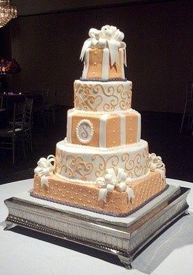 Tmx 1407813604102 Orange Purple 001 Blythewood, SC wedding cake