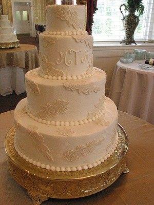 Tmx 1407814275980 Ivory 007 Blythewood, SC wedding cake
