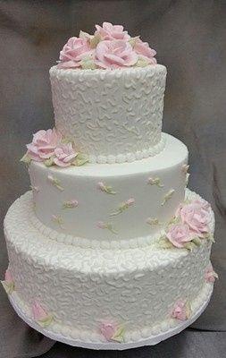 Tmx 1407814388473 Pink Rose 001a Blythewood, SC wedding cake