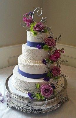 Tmx 1407814674382 Purple 027 Blythewood, SC wedding cake