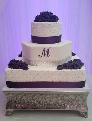 Tmx 1407814771205 Purple 028 Blythewood, SC wedding cake