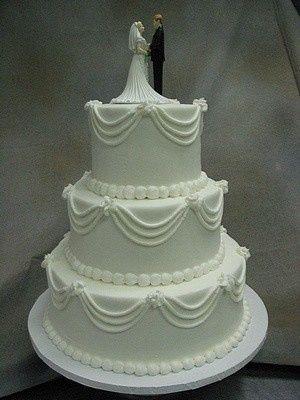 Tmx 1407815355001 Whitesimple Blythewood, SC wedding cake