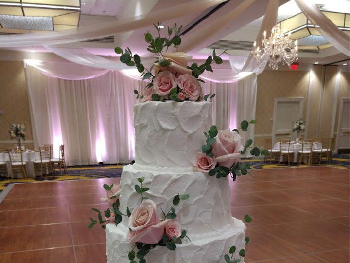 Tmx Blush Pink Roses And Money Plant Greenery On Wedding Cake Vintagebakery Com 803 386 8806 51 45999 159430911443554 Blythewood, SC wedding cake