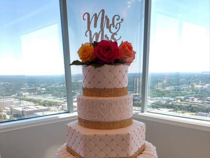 Tmx Golden Entwined Hearts Wedding Cake 1 Vintagebakery Com 803 386 8806 51 45999 159430722139886 Blythewood, SC wedding cake